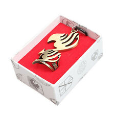 Vintage Anime Fairy Tail Ring & Pendant Necklace Pendant Metal Cosplay 2pcs/Set