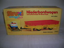 Carrera Struxi Niederbordwagen Kinderbahn Kinderrennbahn Art 10460 Neu Rennbahn