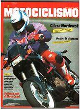 5 1991 - MOTOCICLISMO - MOTO GUZZI 70 ANNI - YAMAHA FZR600 - HONDA TRANSALP