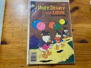 WALT DISNEY HUEY DEWEY & LOUIE JUNIOR WOODCHUCKS WHITMAN comic book