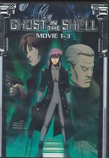 Ghost in the Shell Complete Movie 1,2,3 Collection | English Audio | Dvd