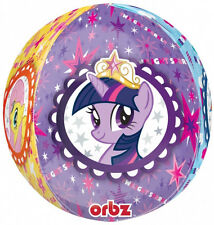 "MY LITTLE PONY PARTY SUPPLIES 16"" MY LITTLE PONY 4 SIDED DESIGN ORBZ BALLOON"