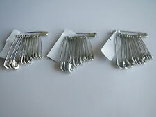 50 100 200 Safety Pins Silver Large Medium Small 28mm - 58mm Long For daily use