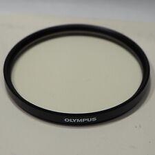 Genuine Olympus 72mm UV (L39) Ultra Violet Filter, fits camera lens