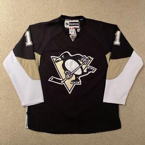Jordan Staal Pittsburgh Penguins Reebok Hockey Jersey NHL Black 52