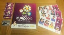 *** Panini EURO 2012 - Rare New Empty Album & New Stickers - Free UK Postage ***