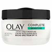 Olay Complete All Day Sensitive Moisture Cream Sunscreen SPF 15 2 oz, 2 Pack