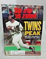 Sports Illustrated Magazine Kirby Puckett Minnesota Twins October 21 1991
