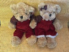 New 30cmTall Teddy Bears Boy & Girl