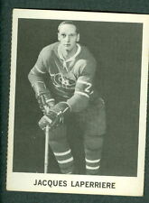 Jacques Laperriere 1965-66 Coke Coca Cola '65 Hockey Card EXM Montreal Canadians
