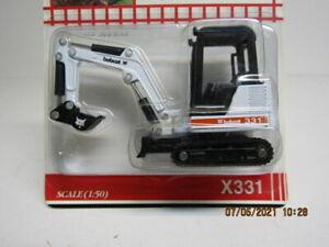 Melroe Bobcat 331 Excavator Die Cast Metal 1:50 Scale/NIB (827-21)
