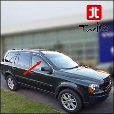 Deflettori Aria Antiturbo Oscurati Volvo XC90 XC 90 2002-2014