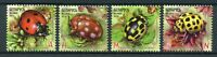 Belarus 2015 MNH Insects Ladybirds Ladybugs 4v Set Beetles Stamps