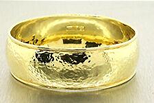 Ippolita Glamazon Goddess Bracelet Bangle Hammered 18k Yellow Gold SMALL FIT!!!!