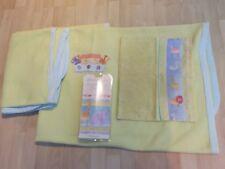 Mamas & Papas Fleece Blankets + Pillow Case (VGC) + Wallpaper Border (NEW)