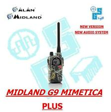 MIDLAND G9 MIMETICO PLUS RICETRASMITTENTE PMR/LPD ALAN New Audio System TalkBack