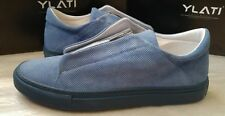 Ylati men's suede low-top zip trainers size 43EU(9UK)* - Made in Italy