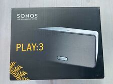 Boxed Sonos PLAY:3 Wireless Speaker - White in excellent condition