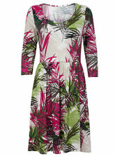Per Una Viscose 3/4 Sleeve Plus Size Dresses for Women