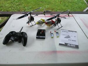 (2) Blade 120sr Rc Helicopters + Parts & Batteries