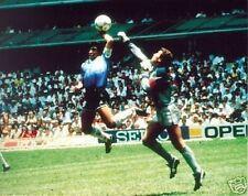 Maradona La Mano De Dios objetivo 1986 Copa Del Mundo 10x8 Foto