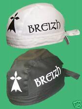 BRETAGNE: corsaire BREIZH NOIR ou BLANC bandana BRETON BZH Bretonne