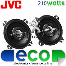 Peugeot 107 05-08 JVC 10cm 4 Inch 420 Watts 2 Way Front Dash Car Speakers
