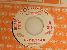 George Young (inst. 45) SUPER CAR / CHICKEN SCRATCH ~ VG TO VG+ tv dance jazz