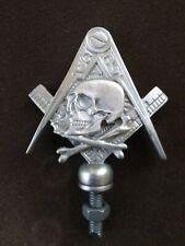 freemasons hiram abiff masonic bikers motorcycle car hood ornament