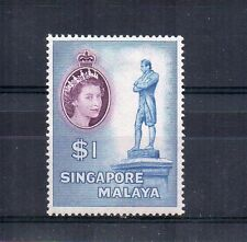 More details for singapore 1955-59 $1 mlh