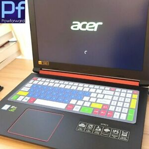 Silicone Keyboard Cover skin for Acer Nitro 5 AN515 AN515-53 an515-51 an515-52