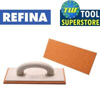REFINA 12in Medium Plastering Sponge Float Narrow Plasterers Foam Trowel 261210