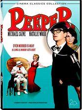 NEW DVD / Peeper  / Michael Caine  Natalie Wood  Michael Constantine