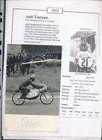 565260 / Motorrad Beleg Autogramm Aalt Toersen