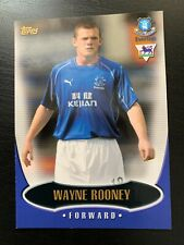 More details for topps premier gold 2003 wayne rooney everton rookie card no e3