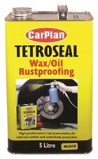 Carplan Tetrosyl Waxoyl Rustproof Protector BLACK  5L - Tetroseal Wax Oil