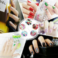 5000X Nail Art Plastics Mixed Decal Stickers 3D Design Manicure Decal Decor Gift