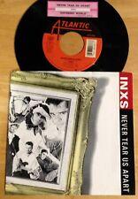 INXS 45 Never Tear Us Apart / Different World  w/ts  w/PS  EX