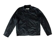 Beautiful Men's LEVIS Patent Cotton / Nylon Jacket Coat Black Size L