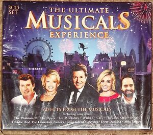 Original Soundtrack - The Ultimate Musicals Experience - 3 CD Box Set 2013