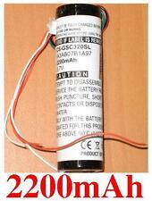 Batterie 2200mAh type 361-00022-00 IA3AB07B1A97 Pour Garmin StreetPilot C510