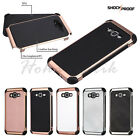 For Samsung GALAXY On5 Phone Leather Silicone Rubber Protective Hard Case Cover