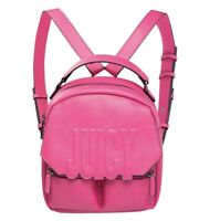 Juicy By Juicy Couture Women's Bella Backpack Handbag Pink Palladium RRP £118