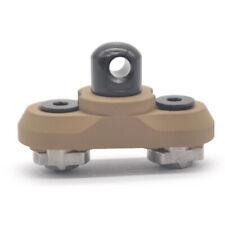 M-lok Sling Swivel Stud Mount Rail Attachment Adapter for MLok Mount System_Tan