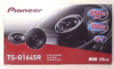 """PIONEER TS-G1645R 6.5"""" 2-Way Car Audio Speakers 250 W 6-1/2 in 88493826585 #102"""