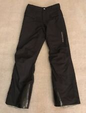 Salomon Skin Advanced Black Ski Pants Snow Winter Size S Men's? Women's? #F1