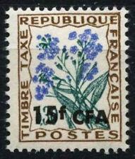 REUNION 1964-71 SG#D428, 15 F SUR 30 C frais de port en raison des fleurs neuf sans charnière #D49649