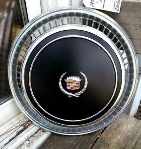 1976 Cadillac Eldorado BLACK Wheel Cover Hubcap  *GRADE A*  Excellent Condition