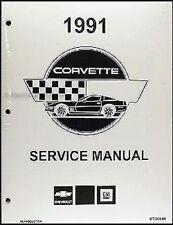 1991 Chevy Corvette Reparación Manual Taller 91 Nuevo en Envoltura Servicio