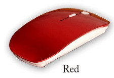 Wireless Optical Mouse 2.4GHz Quality Mice USB 2.0 Receiver for PC Laptop RED